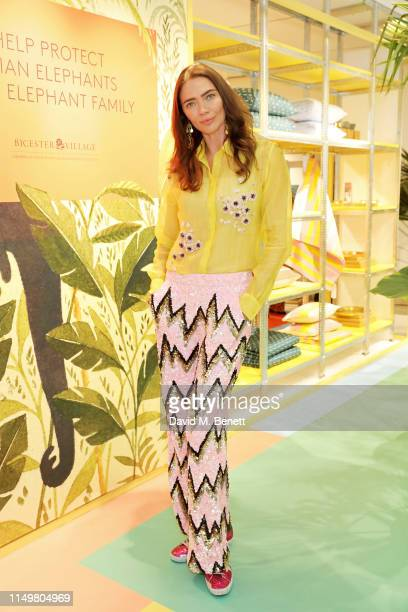 Jodie Kidd attends a colourful celebration of All Things India at Bicester Village on May 17 2019 in Bicester England Photo by David M Benett/Dave...