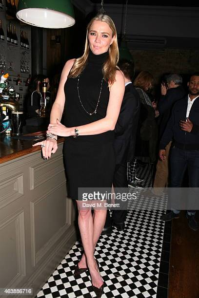 Jodie Kidd attends a Gala Performance of 'Yarico' hosted by show producer Jodie Kidd at the Bijou Theatre London Theatre Workshop on February 19 2015...