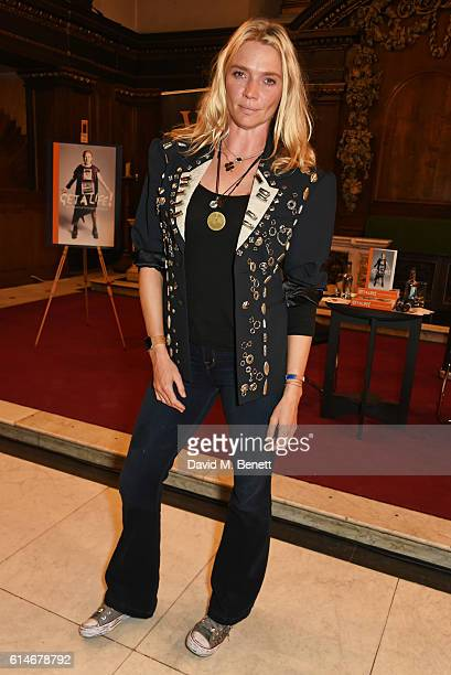 Jodie Kidd attends An Evening With Vivienne Westwood discussing her new book 'Get A Life The Diaries Of Vivienne Westwood' at St James' Church on...
