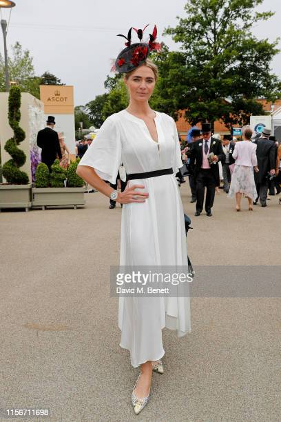 Jodie Kidd attends day 1 of Royal Ascot at Ascot Racecourse on June 18 2019 in Ascot England