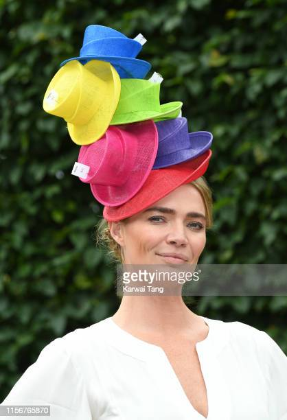 Jodie Kidd attends day one of Royal Ascot at Ascot Racecourse on June 18, 2019 in Ascot, England.