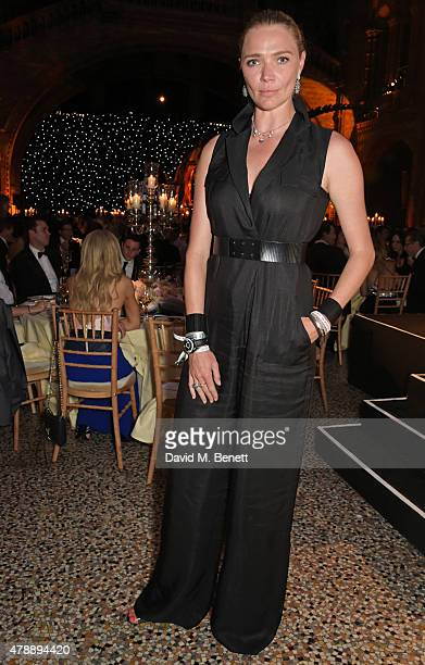 Jodie Kidd attends the 2015 FIA Formula E Visa London ePrix Gala Dinner at the Natural History Museum on June 28 2015 in London England
