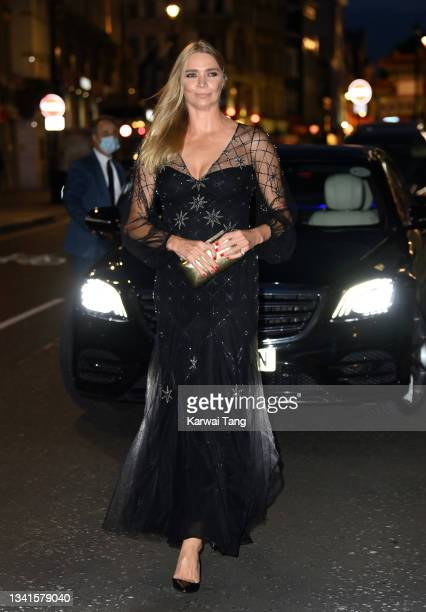 Jodie Kidd attends the British Vogue x Tiffany & Co. Fashion and Film party at The Londoner Hotel on September 20, 2021 in London, England.