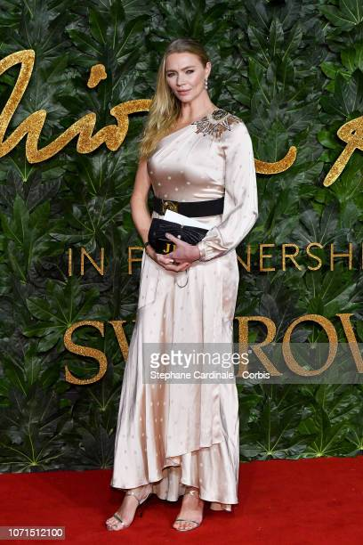 Jodie Kidd attends the Fashion Awards 2018 in partnership with Swarovski at Royal Albert Hall on December 10 2018 in London England