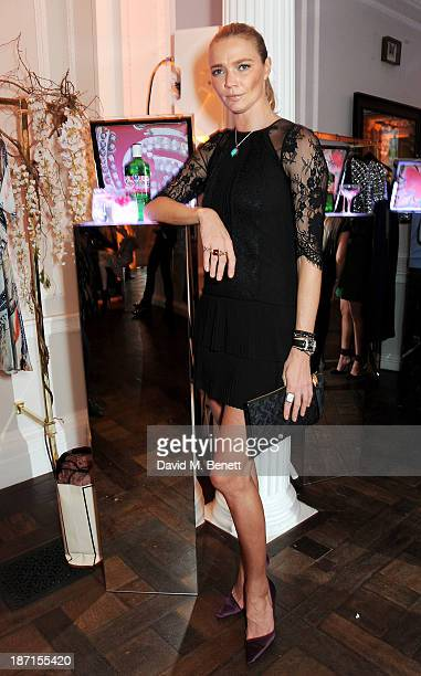 Jodie Kidd attends the Gordon's and Temperley London VIP launch party at Temperley London on November 6 2013 in London England