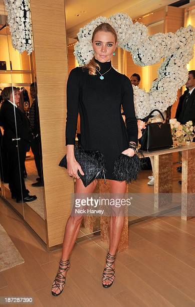 Jodie Kidd attends the launch of Louis Vuitton Townhouse at Selfridges on November 7 2013 in London England