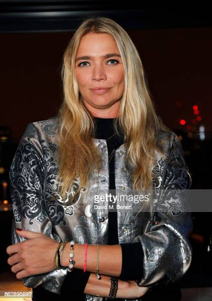 Jodie Kidd attends the launch of The Trafalgar St James in the hotel's spectacular new bar The Rooftop on October 18 2017 in London England