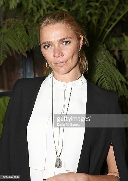 Jodie Kidd attends the launch of 'Wardian London by EcoWorld Ballymore' on September 21 2015 in London England