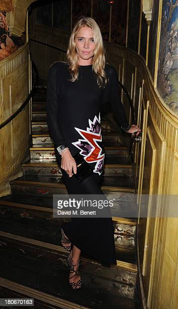 Jodie Kidd attends the Matthew Williamson after party during London Fashion Week SS14 at The Box Soho on September 15 2013 in London England