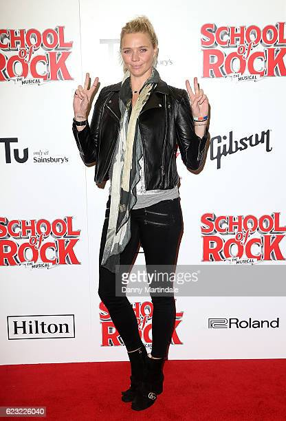 Jodie Kidd attends the opening night of 'School Of Rock The Musical' at The New London Theatre Drury Lane on November 14 2016 in London England