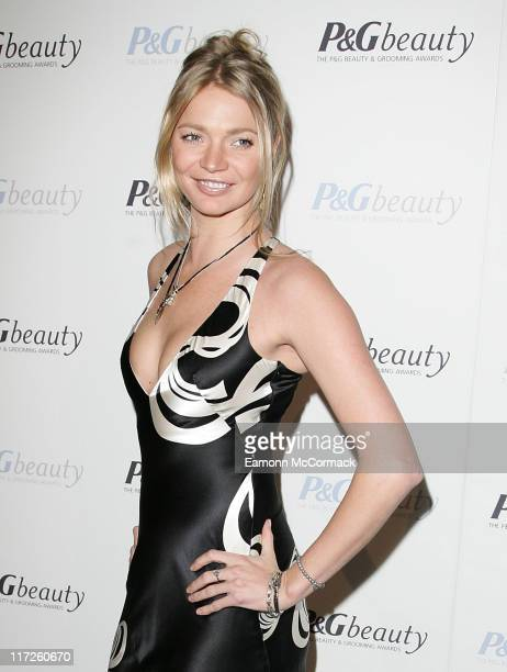 Jodie Kidd attends the PG Beauty and Grooming Awards held at The Royal Horticultural Halls on March 6 2008 in London England