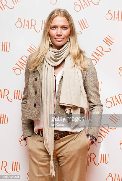 Jodie Kidd attends the Star Hu store launch party on November 20 2012 in London United Kingdom