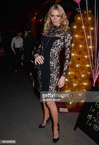 Jodie Kidd attends the The World's First Fabulous Fund Fair hosted by Natalia Vodianova and Karlie Kloss in support of The Naked Heart Foundation at...