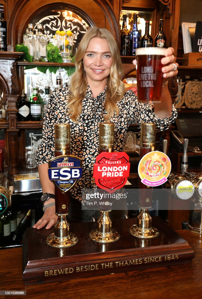 Jodie Kidd Beer Tax Photocall