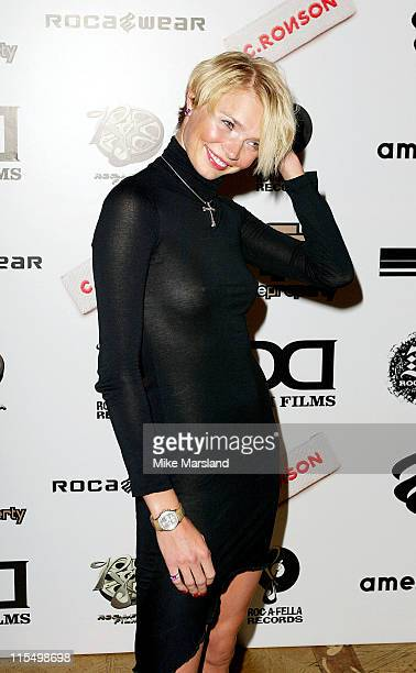 Jodie Kidd during Damon Dash Party to Launch Rocawear at No 5 Cavendish Square in London United Kingdom