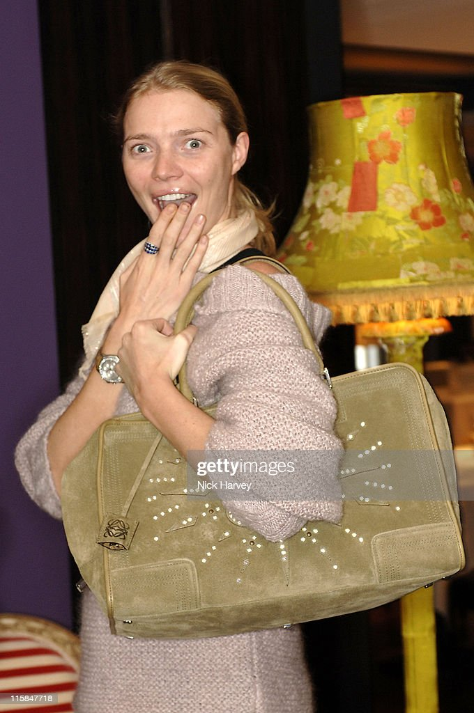 Jodie Kidd during Loewe Lunch at The Hospital at The Hospital in London, Great Britain.