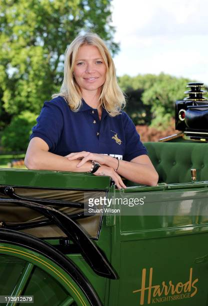 Jodie Kidd launches MINT Polo in the Park at The Hurlingham Club on May 10 2011 in London England