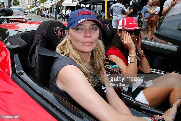 Jodie Kidd on the Croisette during the 68th annual Cannes Film Festival on May 19 2015 in Cannes France