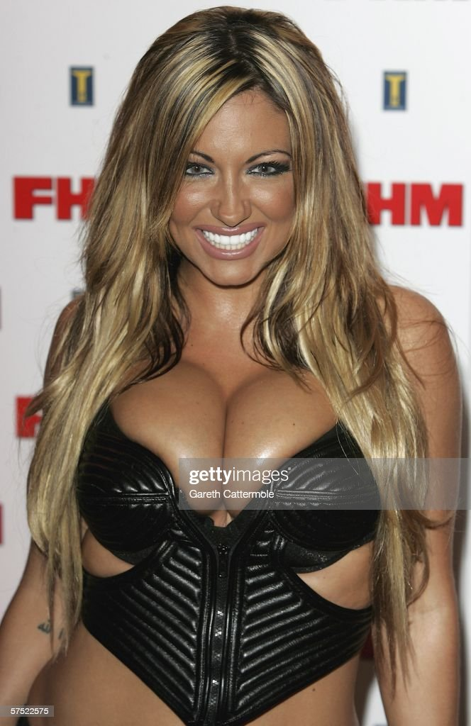 Jodie Marsh arrives at The FHM 100 Sexiest Women In The World Party 2006 at Madame Tussauds on May 03, 2006 in London, England.