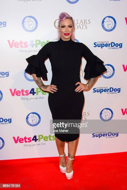 Jodie Marsh attends the Collars and Coats Ball 2017 at Battersea Evolution on November 2 2017 in London England