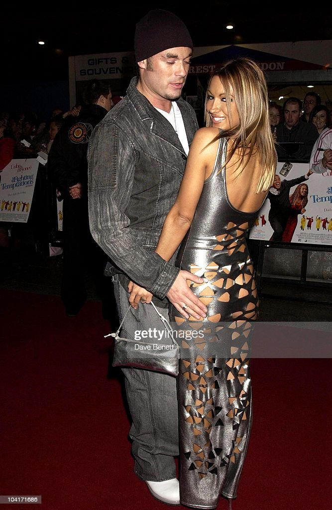 Jodie Marsh & Boyfriend Fran Cosgrove, 'The Fighting Temptations' Premiere, Empire Leicester Square, London