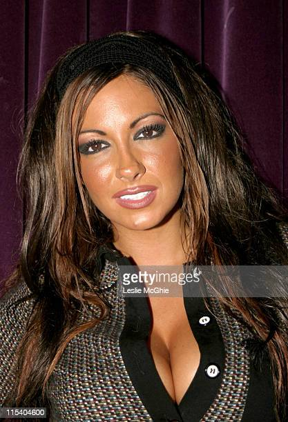 Jodie Marsh during 10 Room 7th Birthday Party at 10 Room in London Great Britain