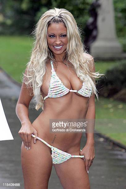Jodie Marsh during 2005 Gift of the Year Awards Photocall at The Savoy in London Great Britain