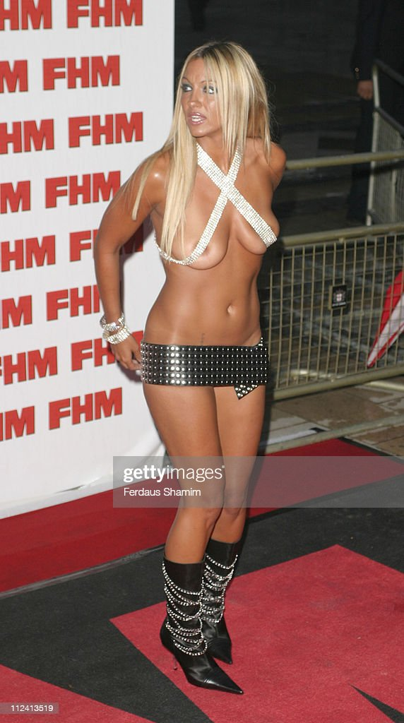 Jodie Marsh During FHM Top 100 Sexiest Women