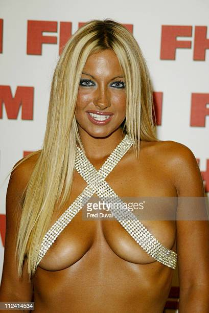 Jodie Marsh during FHM Top 100 Sexiest Women 2004 at Guild Hall in London Great Britain