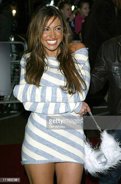 """Jodie Marsh during """"Get Rich or Die Tryin'"""" London Premiere - Outside Arrivals at Empire Leicester Square in London, Great Britain."""