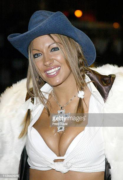 """Jodie Marsh during """"Gumball 3000: The Movie"""" - London Premiere in London, United Kingdom."""