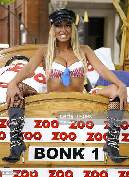 Jodie Marsh during Jodie Marsh is the Sex Expert for Zoo Magazine at Soho Square in London England United Kingdom
