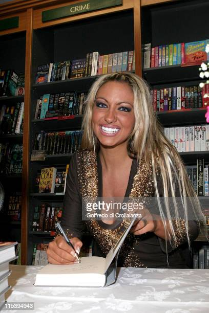 """Jodie Marsh during Jodie Marsh Signs her New Autobiography """"Keeping It Real"""" at Ottakar's - June 11, 2005 at Ottakar's in Brentwood, Great Britain."""