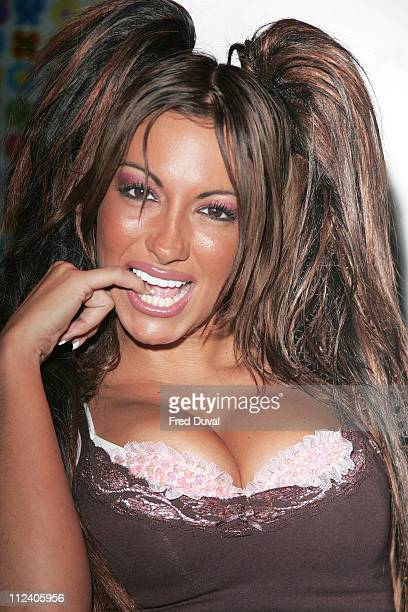 Jodie Marsh during Opening of Playboy Photography Exhibition at the Proud Gallery at Sony Ericsson Proud Camden in London Great Britain
