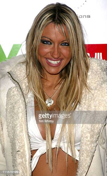 Jodie Marsh during People for the People Charity Concert - Arrivals at Hammersmith Palais in London, Great Britain.