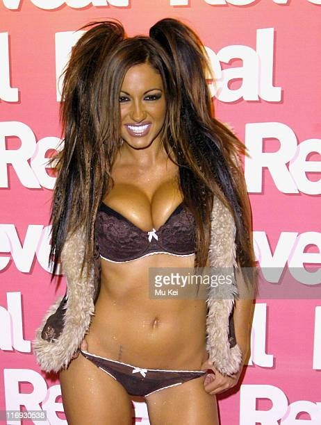 Jodie Marsh during Reveal Magazine 1st Birthday - Arrivals at Living Room Heddon in London, Great Britain.