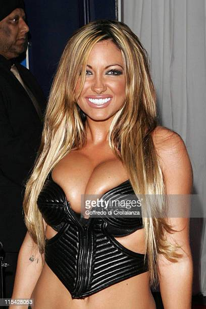 Jodie Marsh during The FHM 100 Sexiest Women In The World Party 2006 - Outside Arrivals at Madame Tussauds in London, Great Britain.