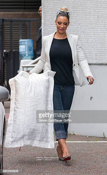 Jodie Marsh is seen on August 27 2013 in London United Kingdom