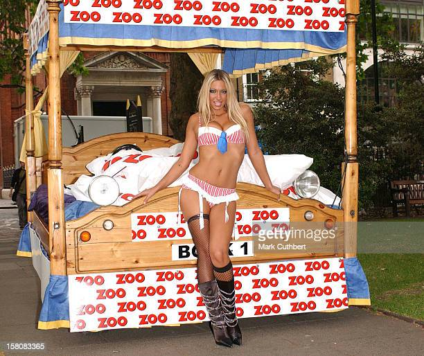Jodie Marsh Mo Mowlam Are Revealed As The New 'Sex Experts' Of Zoo Magazine At A Photocall In London