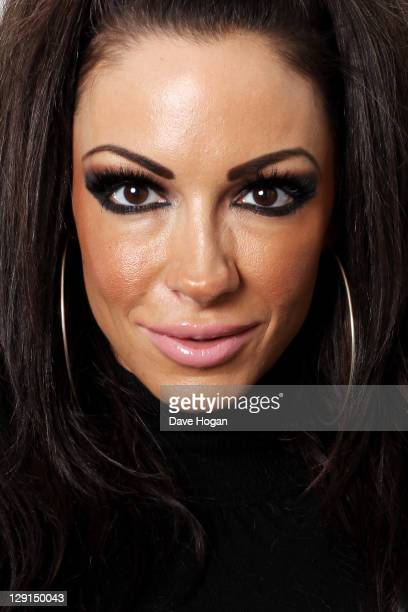 Jodie Marsh poses for a portrait session on October 11 2011 in London United Kingdom
