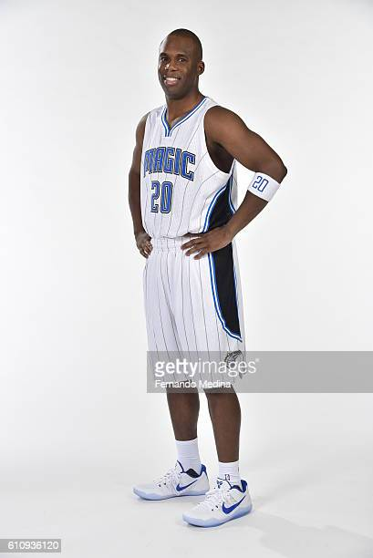 Jodie Meeks of the Orlando Magic poses for a portrait during NBA Media Day on September 26 2016 at Amway Center in Orlando Florida NOTE TO USER User...