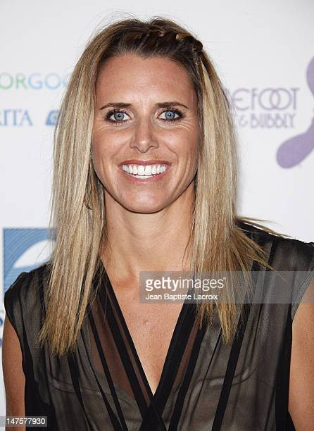 Jodie Nelson arrives at The Surfrider Foundation's 25th Anniversary Gala at the California Science Center's Wallis Annenberg Building on October 9...
