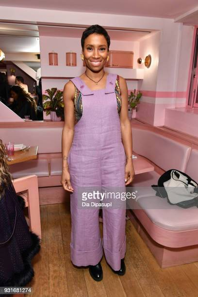 Jodie Patterson attends the Trans Awareness Dinner at Pietro Nolita on March 13 2018 in New York City