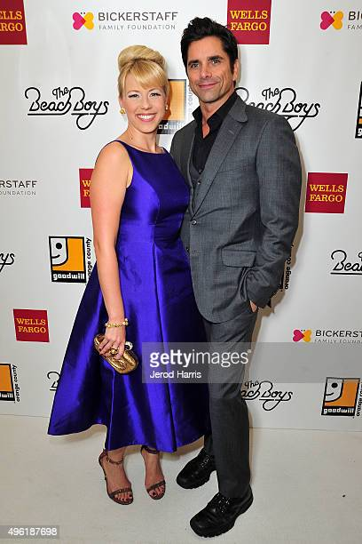 Jodie Sweetin and John Stamos attend the 2nd Annual Goodwill Gala at Laguna Cliffs Marriott on November 7 2015 in Dana Point California
