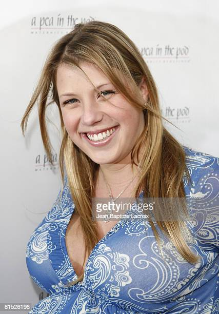 Jodie Sweetin arrives for the book release party Of 'The Hot Mom To Be Handbook Womb With A View' on April 2 2008 at Pea in the Pod in Beverly Hills...