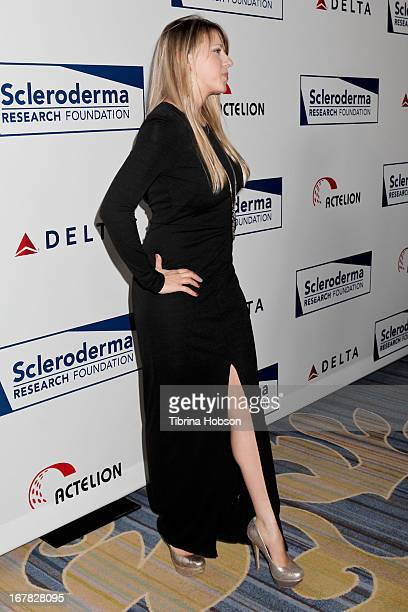 Jodie Sweetin attends the Cool Comedy Hot Cuisine event to benefit the Scleroderma Research Foundation at Four Seasons Hotel Los Angeles at Beverly...