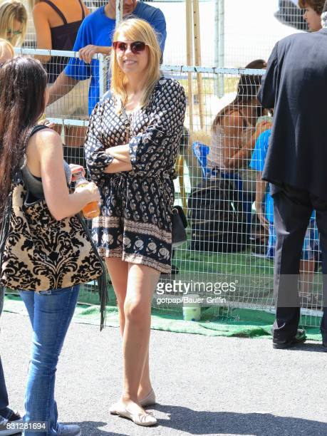 Jodie Sweetin is seen on August 13 2017 in Los Angeles California