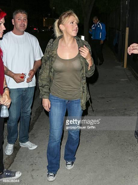 Jodie Sweetin is seen on October 16 2015 in Los Angeles California