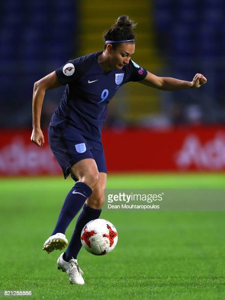 Jodie Taylor of England in action during the UEFA Women's Euro 2017 Group D match between England and Spain at Rat Verlegh Stadion on July 23 2017 in...