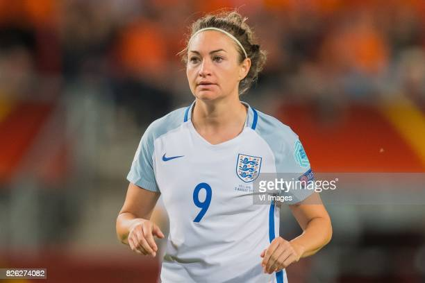 Jodie Taylor of England women during the semifinal UEFA WEURO 2017 match between The Netherlands and England at the Grolsch Veste on August 3 2017 in...